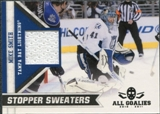 2010/11 Panini All Goalies Stopper Sweaters #12 Mike Smith