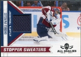 2010/11 Panini All Goalies Stopper Sweaters #13 Ondrej Pavelec