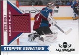 2010/11 Panini All Goalies Stopper Sweaters #16 Peter Budaj