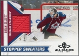 2010/11 Panini All Goalies Stopper Sweaters #17 Brian Elliott