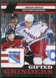2010/11 Panini Zenith Gifted Grinders #4 Brian Boyle