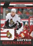 2010/11 Panini Zenith Gifted Grinders #5 Chris Neil