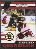 2010/11 Panini Zenith Gifted Grinders #10 Milan Lucic