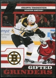 2010/11 Panini Zenith Gifted Grinders #16 Shawn Thornton