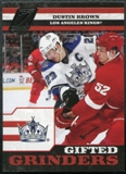 2010/11 Panini Zenith Gifted Grinders #17 Dustin Brown
