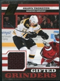 2010/11 Panini Zenith Gifted Grinders Scraps Jerseys #16 Shawn Thornton /299