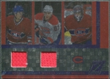 2010/11 Panini Zenith Mozaics Materials Double #12 Carey Price Benoit Pouliot Max Pacioretty