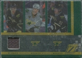 2010/11 Panini Zenith Mozaics Materials #7 Brad Richards/Jamie Benn/Trevor Daley