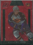 2010/11 Panini Zenith Red Hot #105 Evander Kane