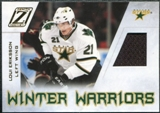 2010/11 Panini Zenith Winter Warriors Materials #LE Loui Eriksson