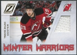 2010/11 Panini Zenith Winter Warriors Materials #TZ Travis Zajac