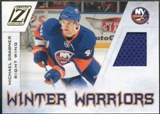 2010/11 Panini Zenith Winter Warriors Materials #MG Michael Grabner