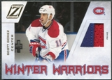 2010/11 Panini Zenith Winter Warriors Materials Prime #SG Scott Gomez /50