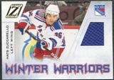 2010/11 Panini Zenith Winter Warriors Materials Prime #MZ Mats Zuccarello /50