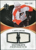 2010/11 Upper Deck Ultimate Collection Ultimate Jerseys #UJJC Jeff Carter /100