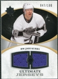 2010/11 Upper Deck Ultimate Collection Ultimate Jerseys #UJJK Jari Kurri /100