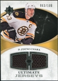 2010/11 Upper Deck Ultimate Collection Ultimate Jerseys #UJZC Zdeno Chara /100