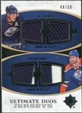 2010/11 Upper Deck Ultimate Collection Ultimate Jerseys Duos #UDJHP Dustin Penner Ales Hemsky /50