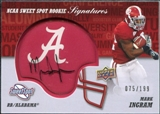 2011 Upper Deck Sweet Spot Rookie Signatures #RSMI Mark Ingram RC Autograph 75/199