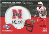 2011 Upper Deck Sweet Spot Rookie Signatures Variations #RSNP Niles Paul Autograph /299