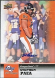 2011 Upper Deck Sweet Spot Autographs #15 Stephen Paea
