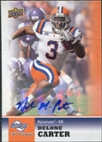 2011 Upper Deck Sweet Spot Autographs #55 Delone Carter