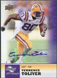 2011 Upper Deck Sweet Spot Autographs #64 Terrence Toliver