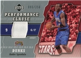 2005/06 Upper Deck Performance Clause Jerseys #AN Andre Iguodala /250