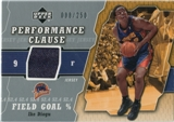 2005/06 Upper Deck Performance Clause Jerseys #ID Ike Diogu /250