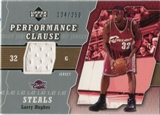 2005/06 Upper Deck Performance Clause Jerseys #LA Larry Hughes /250