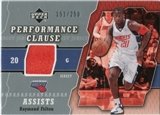 2005/06 Upper Deck Performance Clause Jerseys #RF Raymond Felton /250