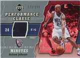 2005/06 Upper Deck Performance Clause Jerseys #RJ Richard Jefferson /250