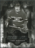 2011/12 Upper Deck Artifacts #113 Larry Robinson Legends /999