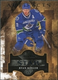 2011/12 Upper Deck Artifacts #123 Ryan Kesler Star /999