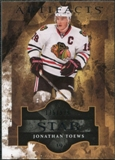 2011/12 Upper Deck Artifacts #147 Jonathan Toews Star /999