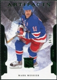 2011/12 Upper Deck Artifacts Emerald #11 Mark Messier /99