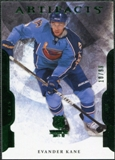 2011/12 Upper Deck Artifacts Emerald #16 Evander Kane /99