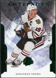 2011/12 Upper Deck Artifacts Emerald #19 Jonathan Toews /99