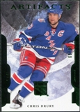2011/12 Upper Deck Artifacts Emerald #38 Chris Drury /99