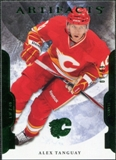2011/12 Upper Deck Artifacts Emerald #64 Alex Tanguay /99