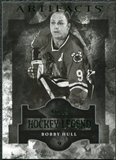 2011/12 Upper Deck Artifacts Emerald #103 Bobby Hull Legends /99