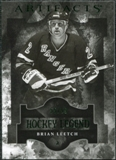 2011/12 Upper Deck Artifacts Emerald #118 Brian Leetch Legends /99