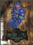 2011/12 Upper Deck Artifacts Emerald #124 Henrik Sedin Star /99
