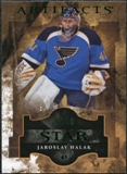 2011/12 Upper Deck Artifacts Emerald #125 Jaroslav Halak Star /99