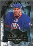 2011/12 Upper Deck Artifacts Emerald #178 Justin DeBenedetto /99