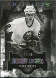 2011/12 Upper Deck Artifacts Spectrum #116 Mike Bossy Legends /25