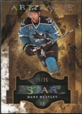 2011/12 Upper Deck Artifacts Spectrum #127 Dany Heatley Star /25