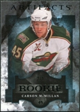 2011/12 Upper Deck Artifacts Black #167 Carson McMillan RC 2/5
