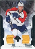 2011/12 Upper Deck Artifacts Jerseys #56 Stephen Weiss /125