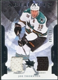 2011/12 Upper Deck Artifacts Jerseys #92 Joe Thornton /125